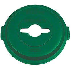 Rubbermaid® Recycling Top - Single Stream, Green