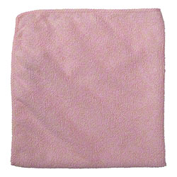 Rubbermaid® Light Commercial Microfiber Cloth - 16x16, Red