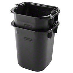 Rubbermaid® Executive Heavy Duty Pail - 5 Qt., Black