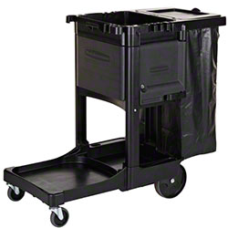 Rubbermaid® Executive Traditional Janitorial Cleaning Cart