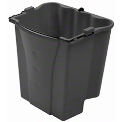 Rubbermaid® Executive Dirty Water Bucket For WaveBrake®