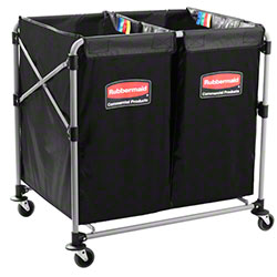 Rubbermaid® Executive Collapsible Multi-Stream X-Cart