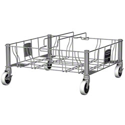 Rubbermaid® Slim Jim® Stainless Steel Double Dolly