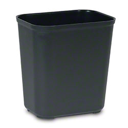 Rubbermaid® Fire Resistant Wastebasket - 28 Qt., Black