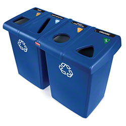Rubbermaid® Glutton® Recycling Stations