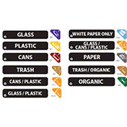 Rubbermaid® Recycle Label Kit