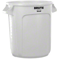 Rubbermaid® BRUTE® Vented Container - 10 Gal., White