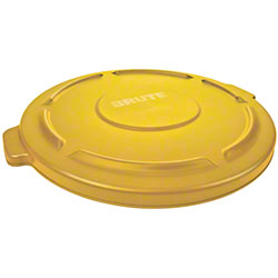 Rubbermaid® BRUTE® 32 Gal. Container Lid-Yellow