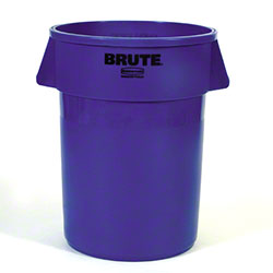 Rubbermaid® BRUTE® Vented Container - 44 Gal., Blue