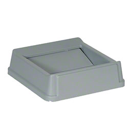 Rubbermaid® Untouchable® Square Top For 3568, 3569 -Gray