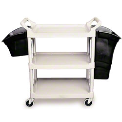 """Rubbermaid® Utility Cart w/4"""" Casters - Off White"""