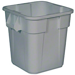 Rubbermaid® BRUTE® Square Container w/o Lid-28 Gal.,Gray