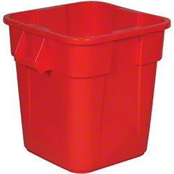 Rubbermaid® BRUTE® Square Container w/o Lid-28 Gal., Red