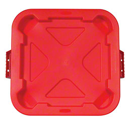 Rubbermaid® BRUTE® Snap-Lock Lid For 3526 Container -Red