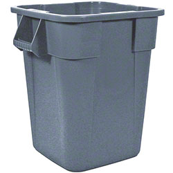 Rubbermaid® BRUTE® Square Container w/o Lid-40 Gal.,Gray