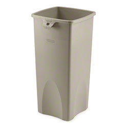 Rubbermaid® Untouchable® Square Container - Beige