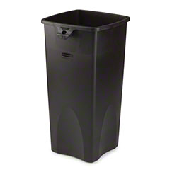 Rubbermaid® Untouchable® Square Container - Black
