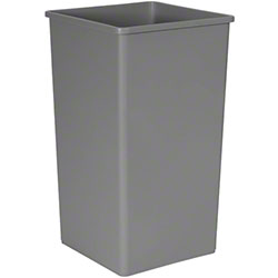 Rubbermaid® Untouchable® Square Container-50 Gal., Gray