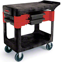 """Rubbermaid® Trades Cart w/5"""" Casters"""