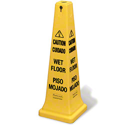 "Rubbermaid® ""Caution Wet Floor"" Imprint 36"" Safety Cone"