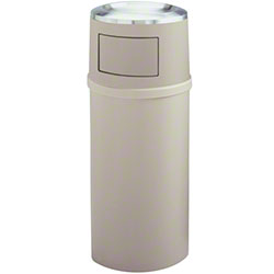 Rubbermaid® Ash/Trash Classic Container w/Doors