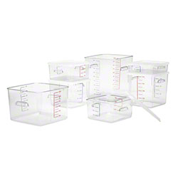 Rubbermaid® Square Storage Containers