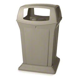 Rubbermaid® Ranger® 4 Openeing Container -45 Gal., Beige
