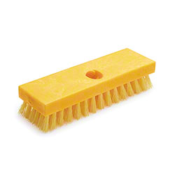 "Rubbermaid® Deck Brush - 9"", Polypropylene"