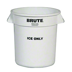 "Rubbermaid® BRUTE® ""Ice Only"" Container - 10 Gal."