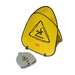 "Rubbermaid® Folding ""Wet Floor"" Safety Cone"