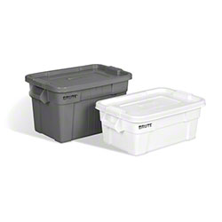 Rubbermaid® BRUTE® Tote with Lid - 14 Gal., Gray