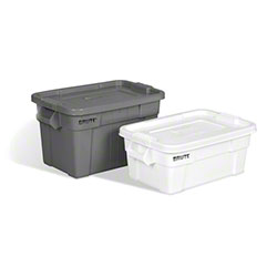 Rubbermaid® BRUTE® Tote with Lid - 20 Gal., Gray