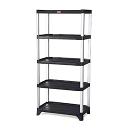 "Rubbermaid® Shelving - 5-Shelf, 35.13"" x 20"" x 71.38"""