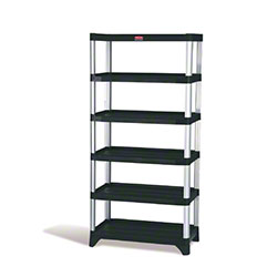 "Rubbermaid® Shelving - 6-Shelf, 35.13"" x 20"" x 72.75"""