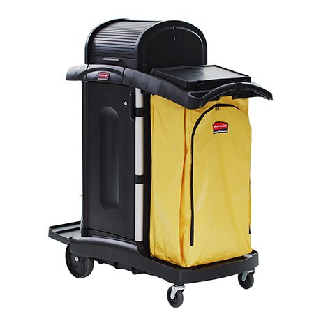 Rubbermaid® Hygen™ High Security Cleaning Cart