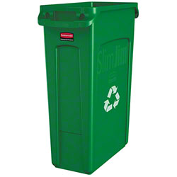 Rubbermaid® Indoor Station Cont -23 Gal w/Vent,Slim Jim®