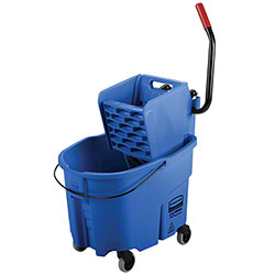 Rubbermaid® WaveBrake® Side Press Combo - 35 Qt., Blue