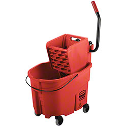 Rubbermaid® WaveBrake® Side Press Combo - 35 Qt., Red