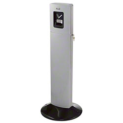 Rubbermaid® Metropolitan Smokers' Tower - Silver Metalic