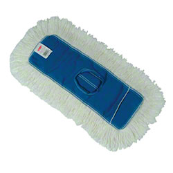 "Rubbermaid® Kut-A-Way® Dust Mop - 18"" x 5"", White"