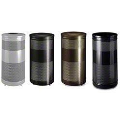 Rubbermaid® Classics Drop Top w/Leveler Recycle Containers