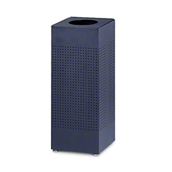 Rubbermaid® Silhouette Open Top Square Receptacles