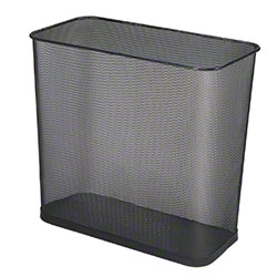 Rubbermaid® Concept Collection™ Open Top Wastebasket-BK