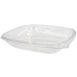 Sabert® Cold Collection Clear Square Bowls