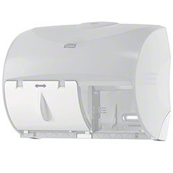 Tork® Twin Bath Tissue Dispenser For OptiCore® - White