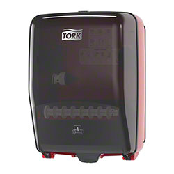 Tork® Performance™ Washstation Dispenser - Red/Smoke