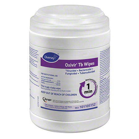 Diversey™ Oxivir® Tb Wipes - 160 ct. Canister