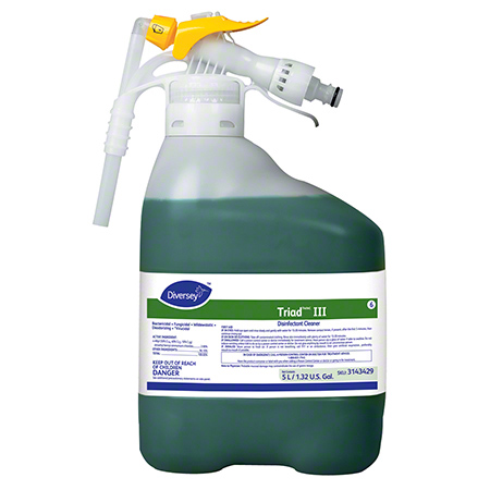 Diversey™ Triad™ III Disinfectant Cleaner - 5 L RTD®