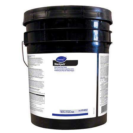 Diversey™ Blackjack™ Black Plank Floor Finish - 5 Gal.