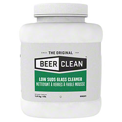 Beer Clean® Low Suds Glass Cleaner - 4 lb.